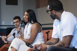 Khadijah Queen, Mitchell S Jackson Panel